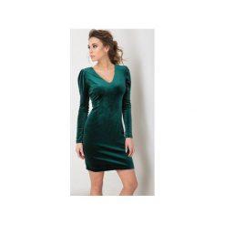 Sukienka Paris Butelkowo zielona. Zielone sukienki balowe Flawdress, l. Za 229,00 zł.