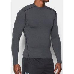 Under Armour Koszulka męska Mock szara r. L (1265648-090). Szare koszulki sportowe męskie marki Under Armour, z elastanu, sportowe. Za 190,08 zł.