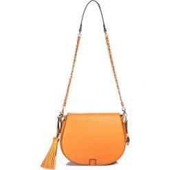"""Torebki klasyczne damskie: Torebka """"Alvin"""" w kolorze pomarańczowym - 24 x 21 x 6 cm"""