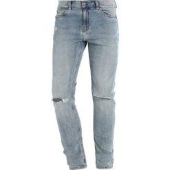 Cheap Monday TIGHT Jeans Skinny Fit spear blue. Niebieskie rurki męskie marki Tiffosi. W wyprzedaży za 174,30 zł.