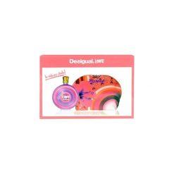 Kosmetyczki męskie: Desigual Love zestaw Edt 100ml + Kosmetyczka dla kobiet