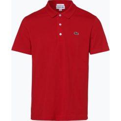Lacoste - Męska koszulka polo, czerwony. Szare koszulki polo marki Lacoste, z bawełny. Za 249,95 zł.