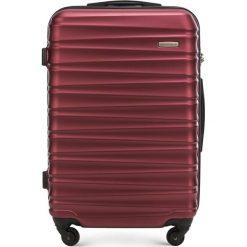 Walizka średnia 56-3A-312-30. Czerwone walizki marki Wittchen, z gumy, średnie. Za 179,00 zł.