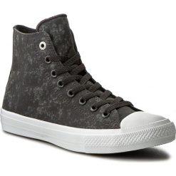 Trampki CONVERSE - Ctash II Hi 153544C Almost Black. Czarne trampki męskie marki Converse, z materiału. W wyprzedaży za 239,00 zł.