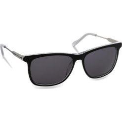 Okulary przeciwsłoneczne BOSS - 0229/S Bkwhtgry Pld LHK. Czarne okulary przeciwsłoneczne męskie aviatory Boss, z tworzywa sztucznego. W wyprzedaży za 459,00 zł.