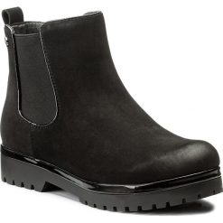 Sztyblety JENNY FAIRY - WYL1093A-3 Czarny. Czarne buty zimowe damskie Jenny Fairy, z materiału. Za 119,99 zł.