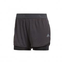 Szorty i Bermudy  adidas  Szorty 2-w-1 Chill. Szare bermudy damskie Adidas. Za 179,00 zł.