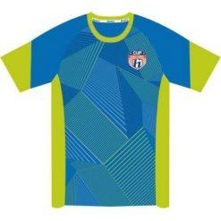 T-shirty chłopięce: Huari Koszulka juniorska Plata Kids T-shirt French Blue/ Tender Shoots r. 128