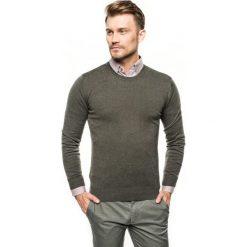 Sweter nagel półgolf oliwkowy. Zielone swetry klasyczne męskie Recman, m, z golfem. Za 169,00 zł.