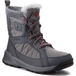 Śniegowce COLUMBIA - Meadows Shorty Omni-Heat 3D BL5966 Ti Grey Steel/Marsala Red 033. Szare buty zimowe damskie Columbia, z materiału. W wyprzedaży za 369,00 zł.