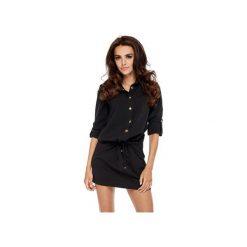 Sukienka Calpe Ooh la la. Czarne sukienki dzianinowe Ooh la la, do pracy, biznesowe. Za 199,00 zł.