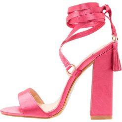 Rzymianki damskie: BEBO VICTORIA Sandały na obcasie pink