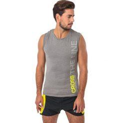 IQ Koszulka męska Majro II Charcoal Grey r. L. Szare koszulki sportowe męskie marki IQ, l. Za 59,99 zł.