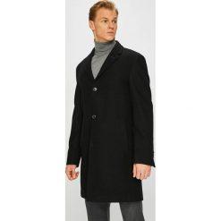 Pierre Cardin - Płaszcz. Czarne płaszcze na zamek męskie Pierre Cardin, z materiału, klasyczne. W wyprzedaży za 749,90 zł.