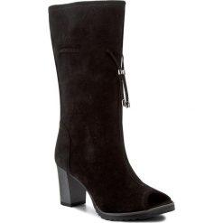 Kozaki SERGIO BARDI - Paule FS127231417DP  801. Czarne buty zimowe damskie Sergio Bardi, ze skóry, na obcasie. W wyprzedaży za 179,00 zł.