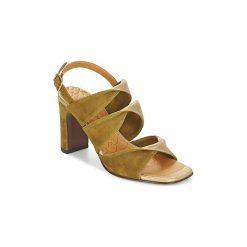 Sandały Chie Mihara  CRUSHLI. Zielone sandały damskie Chie Mihara. Za 935,20 zł.