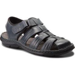 Sandały LASOCKI FOR MEN - MI07-A426-A282-28 Granatowy. Niebieskie sandały męskie skórzane marki Lasocki For Men. W wyprzedaży za 139,99 zł.