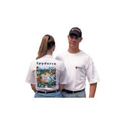 Spyderco T-shirt Unisex - White - XL. Białe t-shirty męskie Na wolnym powietrzu, xl. Za 99,20 zł.