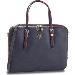 Torba na laptopa TOMMY HILFIGER - Honey Computer Bag AW0AW05645 903. Niebieskie torby na laptopa TOMMY HILFIGER, ze skóry ekologicznej. Za 649,00 zł.