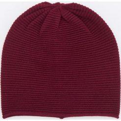Czapka - Bordowy. Czerwone czapki damskie Reserved. Za 29,99 zł.