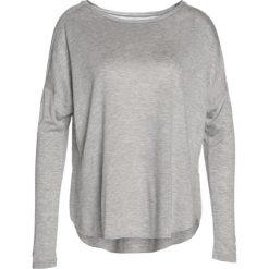 Reebok Bluzka z długim rękawem melange grey heather. Szare bluzki damskie Reebok, s, z materiału, z długim rękawem. Za 189,00 zł.