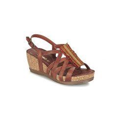 Sandały Samoa  BATIP. Brązowe sandały trekkingowe damskie marki Samoa. Za 251,30 zł.