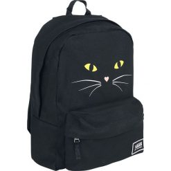 Torebki i plecaki damskie: Vans Realm Classic Backpack Black Cat Plecak czarny/żółty
