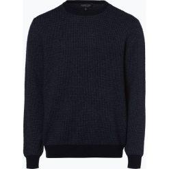 Andrew James - Sweter męski z czystego kaszmiru, niebieski. Niebieskie swetry klasyczne męskie Andrew James, l, z futra. Za 499,95 zł.