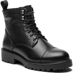 Trapery VAGABOND - Kenova 4457-201-20 Black. Czarne buty zimowe damskie marki Vagabond, z materiału, z okrągłym noskiem. Za 549,00 zł.