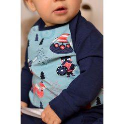 Bluza dziecięca viking. Czarne bluzy dziewczęce rozpinane marki Pakamera, z nadrukiem, z bawełny. Za 85,00 zł.