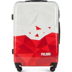 Walizka średnia 56-3A-242-TR. Białe walizki marki Wittchen, z gumy, średnie. Za 199,00 zł.