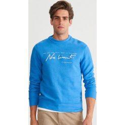 Bluza ze strukturalnej dzianiny - Niebieski. Czerwone bluzy męskie marki KALENJI, m, z elastanu, z długim rękawem, długie. Za 99,99 zł.