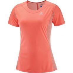 Salomon Koszulka damska Agile SS W Salomon Fluo Coral r. L (397525). Różowe topy sportowe damskie Salomon, l. Za 99,00 zł.