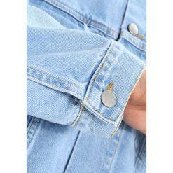 Kurtki męskie bomber: 12 Midnight BLEACHED RIPPED Kurtka jeansowa lightblue