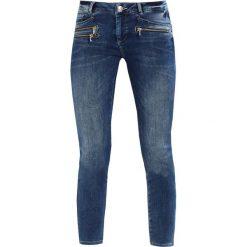 Mos Mosh BERLIN ZIP 7/8 JEANS Jeans Skinny Fit blue. Niebieskie rurki damskie Mos Mosh. W wyprzedaży za 479,20 zł.