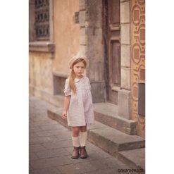 Sukienka Hazel. Brązowe sukienki dziewczęce z falbanami Pakamera, klasyczne. Za 159,00 zł.