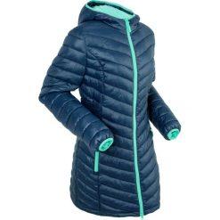 Lekka kurtka pikowana z workiem bonprix ciemnoniebieski. Niebieskie kurtki damskie pikowane marki bonprix. Za 229,99 zł.
