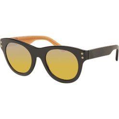 """Okulary przeciwsłoneczne damskie aviatory: Okulary przeciwsłoneczne """"SRDPE120102"""" w kolorze czarnym"""