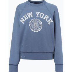 Polo Ralph Lauren - Damska bluza nierozpinana, niebieski. Niebieskie bluzy rozpinane damskie Polo Ralph Lauren, m, w kolorowe wzory. Za 699,95 zł.
