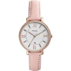 Zegarek FOSSIL - Jacqueline ES4303 Nude/Rose Gold. Różowe zegarki damskie marki Fossil, szklane. Za 699,00 zł.