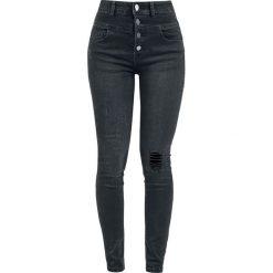 RED by EMP Megan Jeansy damskie czarny. Czarne boyfriendy damskie RED by EMP, z jeansu. Za 164,90 zł.