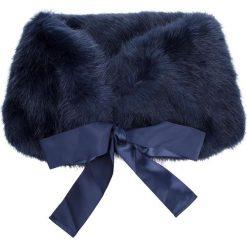 Szal PATRIZIA PEPE - 2V8129/A1RM-C727 Soft Blue. Niebieskie szaliki damskie Patrizia Pepe, z haftami, z materiału. Za 639,00 zł.