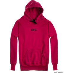 Bluza Męska HOODIE CLASSIC HARPTONE CARMIN. Czerwone bluzy męskie rozpinane Pakamera, m, z długim rękawem, długie. Za 229,00 zł.