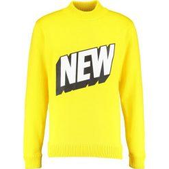 Soulland HEAVY ROLLNECK Sweter light yellow. Żółte kardigany męskie Soulland, m, z materiału. W wyprzedaży za 504,50 zł.