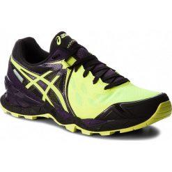 Buty ASICS - Gel-FujiEndurance PlasmaGuard T640N Safety Yellow/Infinity Purple/Black 0732. Żółte buty do biegania męskie Asics, z materiału. W wyprzedaży za 349,00 zł.
