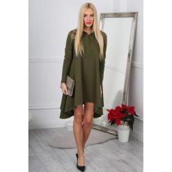 Sukienka rozkloszowana khaki 11030. Zielone sukienki marki Reserved, z wiskozy. Za 69,00 zł.