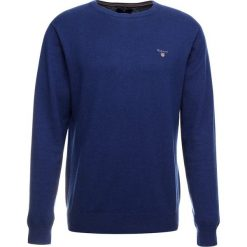 GANT CREW Sweter cobalt blue. Niebieskie swetry klasyczne męskie GANT, m, z bawełny. Za 419,00 zł.
