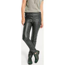 Odzież damska: Legginsy w kolorze khaki