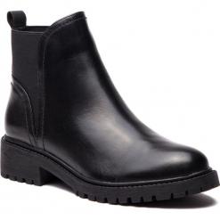 Sztyblety KAZAR - Kassidy 34032-01-00 Black. Czarne buty zimowe damskie Kazar, ze skóry, na wysokim obcasie. Za 569,00 zł.