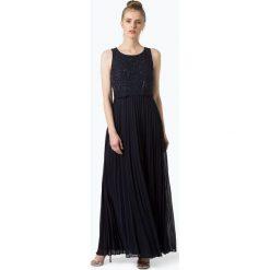 Marie Lund - Damska sukienka wieczorowa, niebieski. Niebieskie sukienki hiszpanki Marie Lund, z szyfonu, wizytowe. Za 479,95 zł.